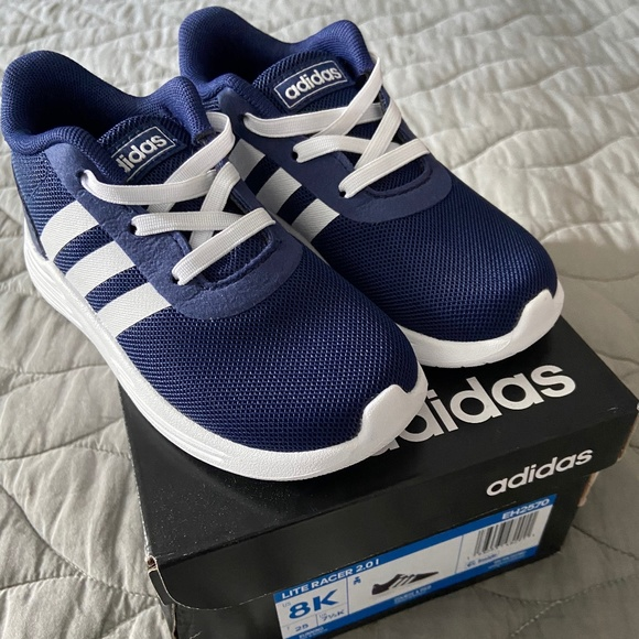 Adidas Toddler Navy Sneakers NWT